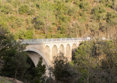 Pont des Abarines entre Mialet et Saint-Jean du Gard