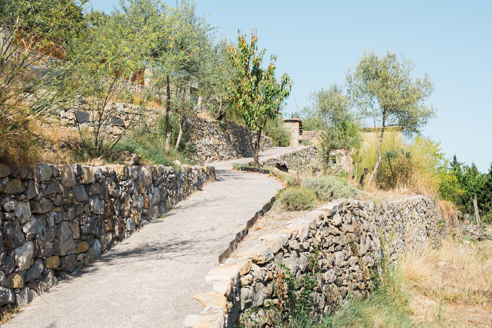 Murets de soutènement (faïsse) en Cévennes