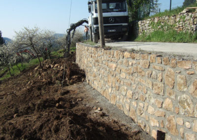 Murs et murets de soutènement