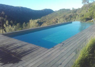 Piscine à débordement, piscine ovale, piscine rectangulaire ou de forme libre
