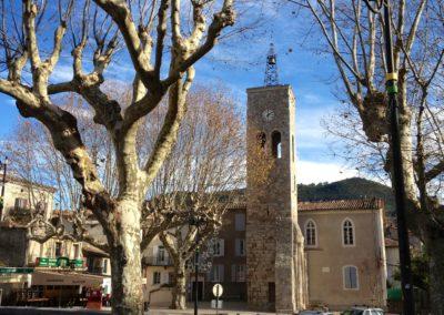 Saint Jean du Gard - Centre village - La tour de l'horloge