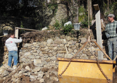 Construction de murs et murets en Cévennes