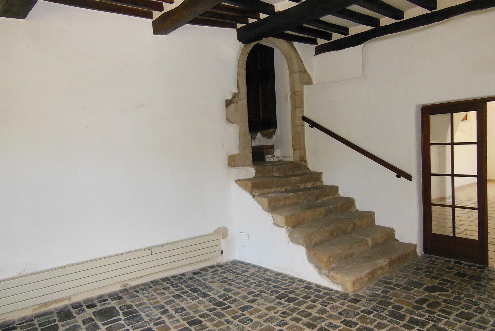 Rénovation et extension d'un escalier