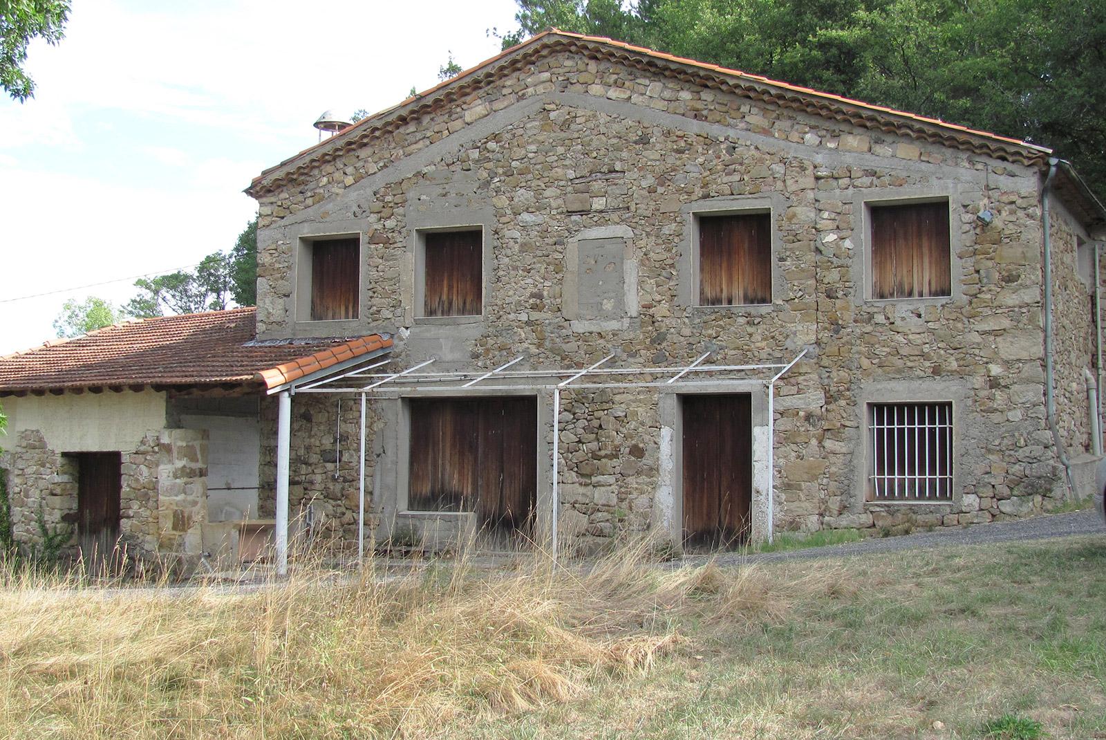 Rénovation d'une maison en Cévennes
