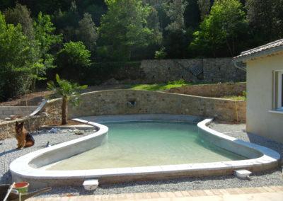 Piscine et bassin de baignade en Cévennes