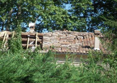 Toiture d'une maison à St-Jean-du-Gard